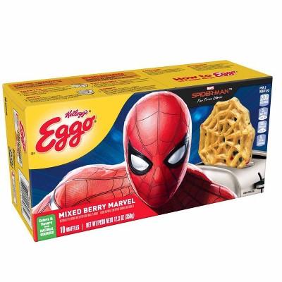 Eggo Marvel Spider-Man Mixed Berry Frozen Waffles - 12.3oz/10ct