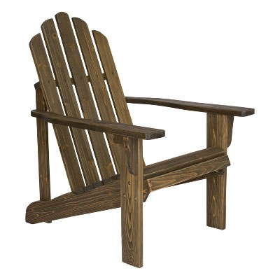 Marina Rustic Adirondack Chair Barnwood - Shine Company Inc.