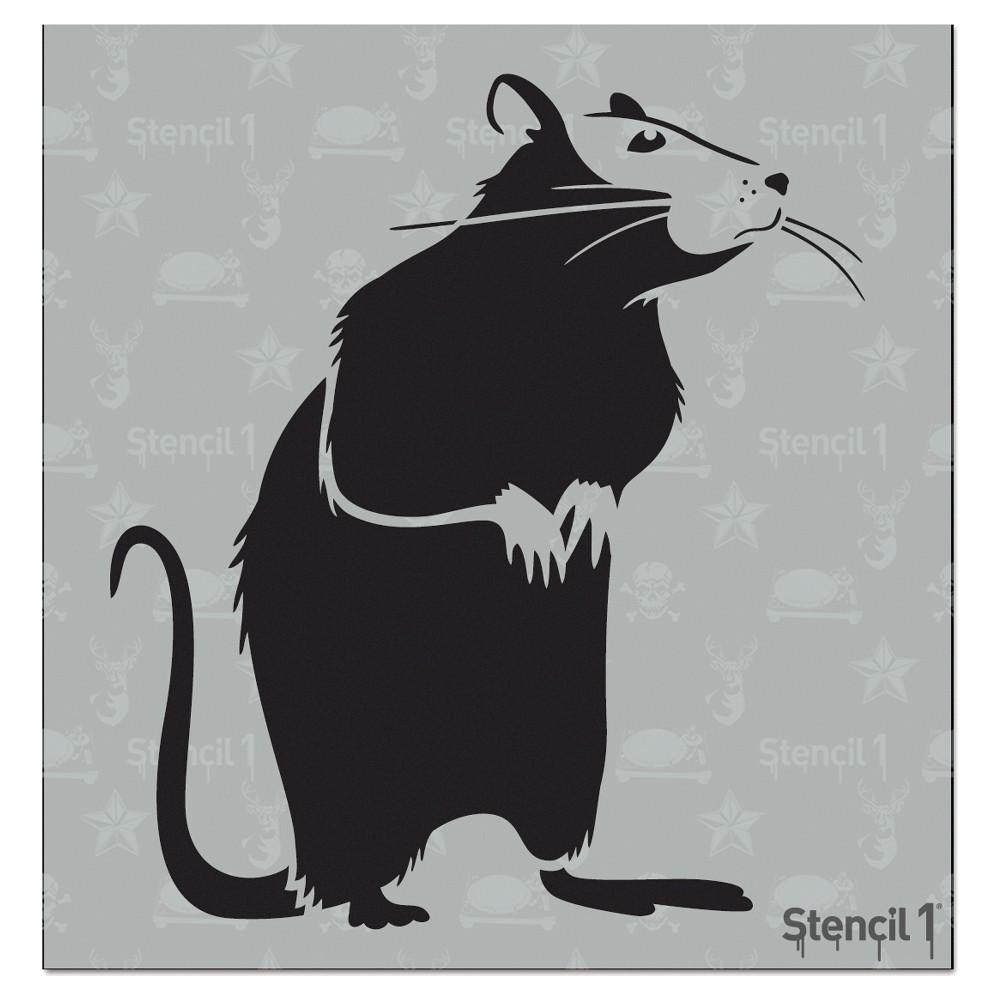 Stencil1 Rat Stencil 5 75 34 X 6 34