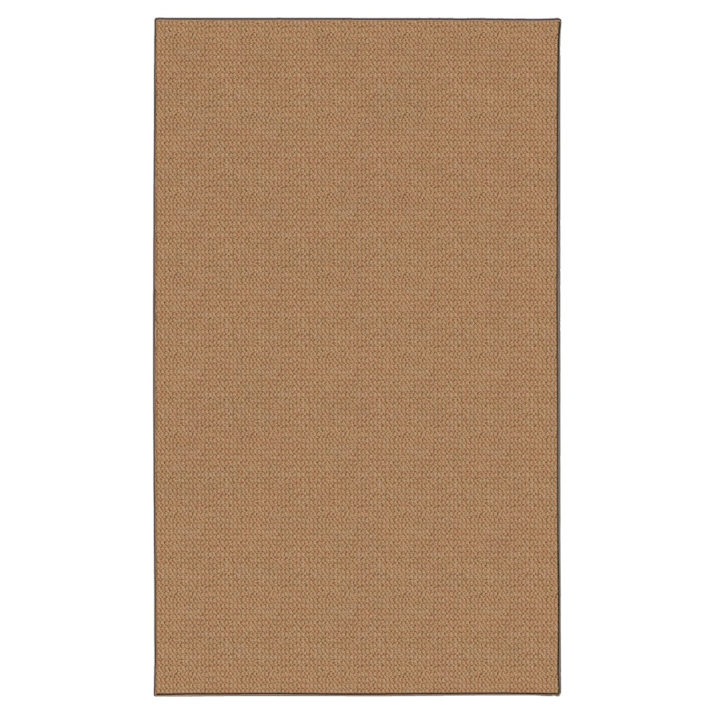 Rhodes Wool Area Rug - Cork (Brown) (4' X 5'7)
