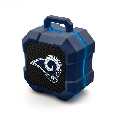 NFL Los Angeles Rams LED ShockBox Speaker
