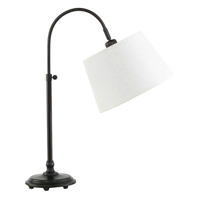 "28"" AdjusDesk Metal Desk Lamp Oil Rubbed Bronze - Fangio Lighting"