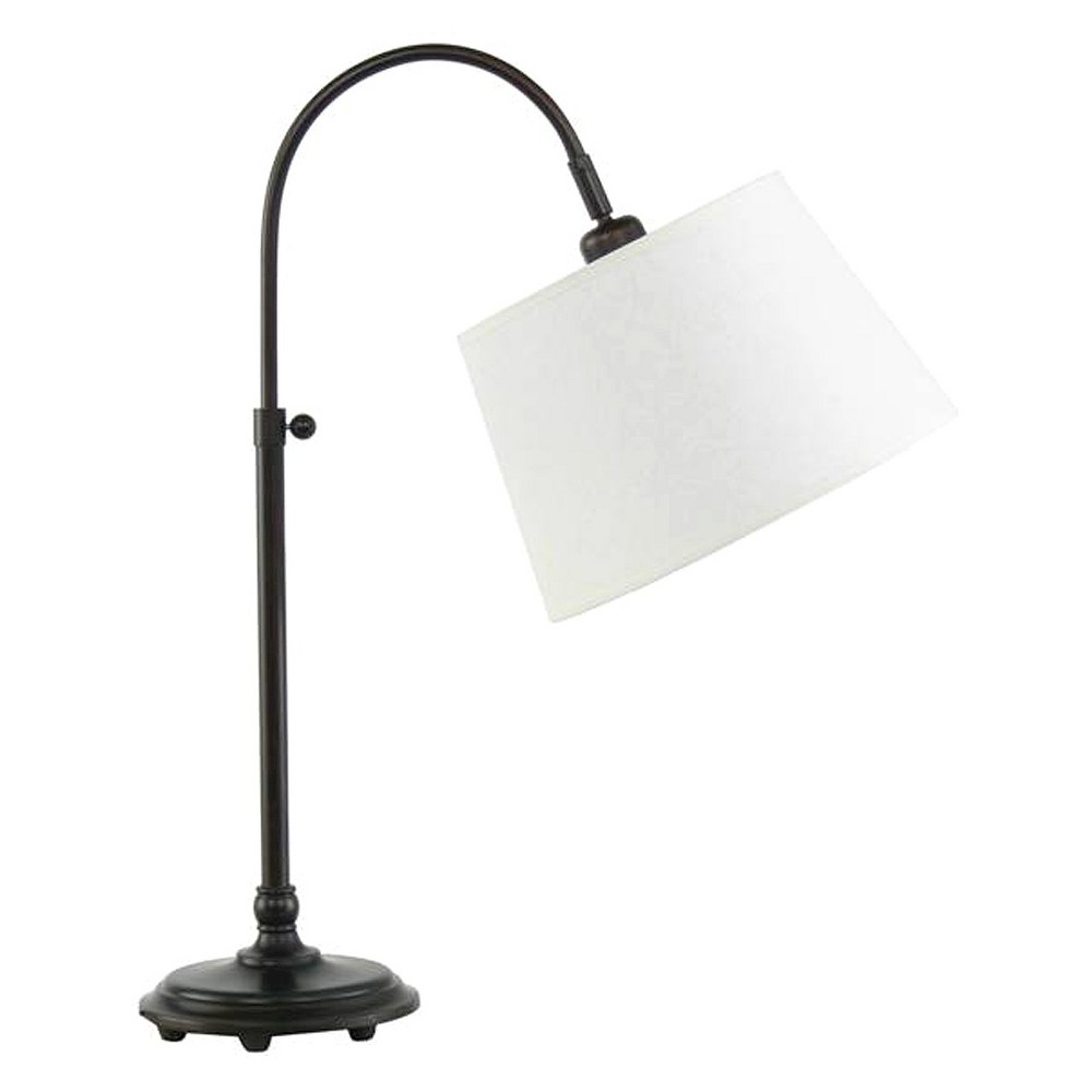Image of Adjustable Metal Table Lamp - Oil Rubbed Bronze (28)