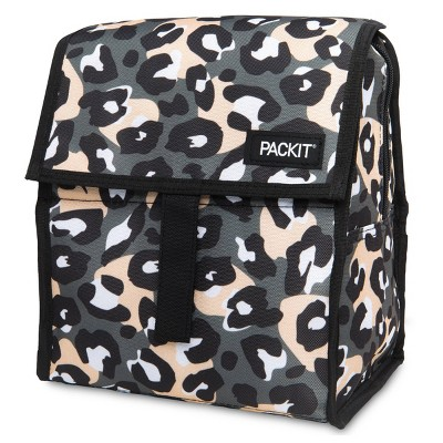 Packit Freezable Lunch Bag - Wild Leopard Gray