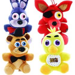 "Chucks Toys Five Nights At Freddy's 10"" Plush Set of 4"