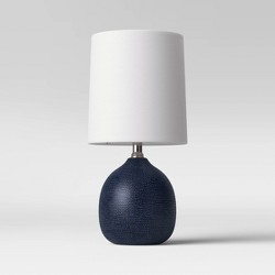 Textured Ceramic Mini Accent Lamp - Threshold™