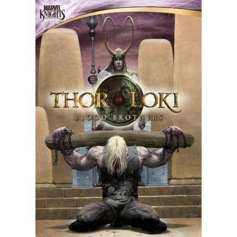 Marvel Knights: Thor & Loki, Blood Brothers (DVD) - image 1 of 1