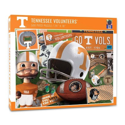 NCAA Tennessee Volunteers Throwback Puzzle 500pc