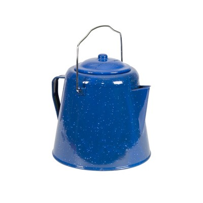 Stansport Enamel Coffee Pot 20 Cup Blue