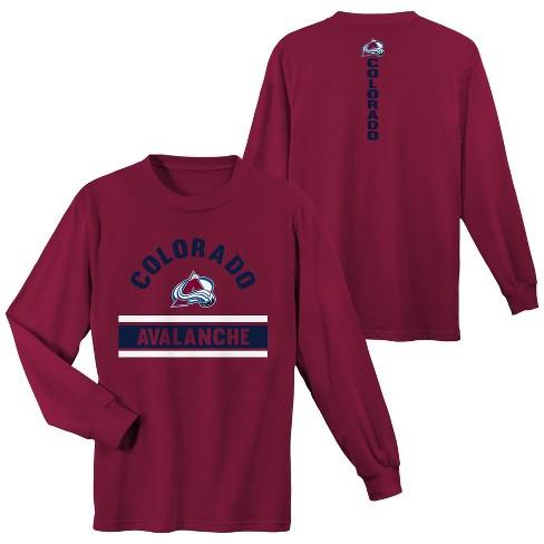 NHL Colorado Avalanche Boys' Warming House Long Sleeve T-Shirt - image 1 of 3