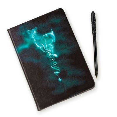 Seven20 Harry Potter Severus Snape Patronus Notebook & Wand Pen Set   192 Blank Pages