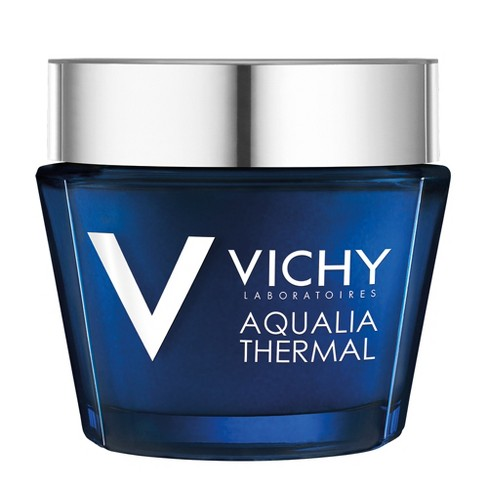 Vichy Aqualia Thermal Night Spa, Anti-Fatigue Night Cream and Face Mask with Hyaluronic Acid - 2.54oz - image 1 of 3