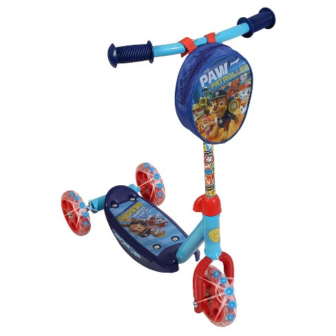 Paw Patrol 3 Wheel Scooter With Lighted