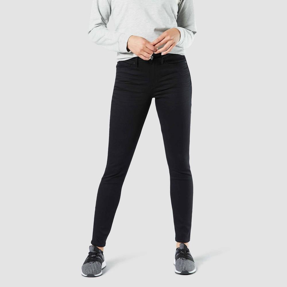 Best Online Denizen From Levi Women High Rise Skinny Jeans Black 18 Short