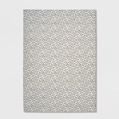 Cameo Outdoor Rug Gray/White - Opalhouse™