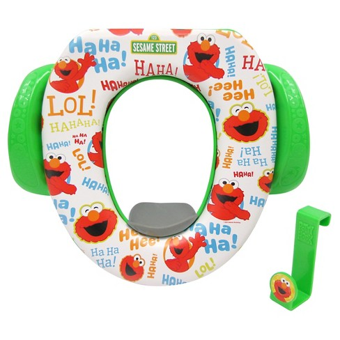 Sesame Street Soft Potty With Hook Green Target