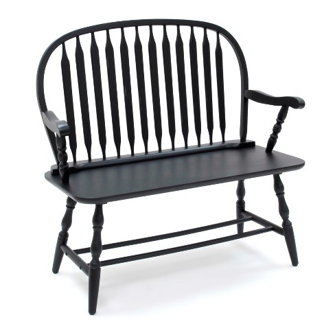 Tremendous Mosley Windsor Bench Carolina Chair And Table Machost Co Dining Chair Design Ideas Machostcouk