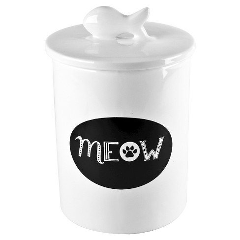 Housewares International Anne Was Here Meow Treat Jar - 6 in. - image 1 of 1