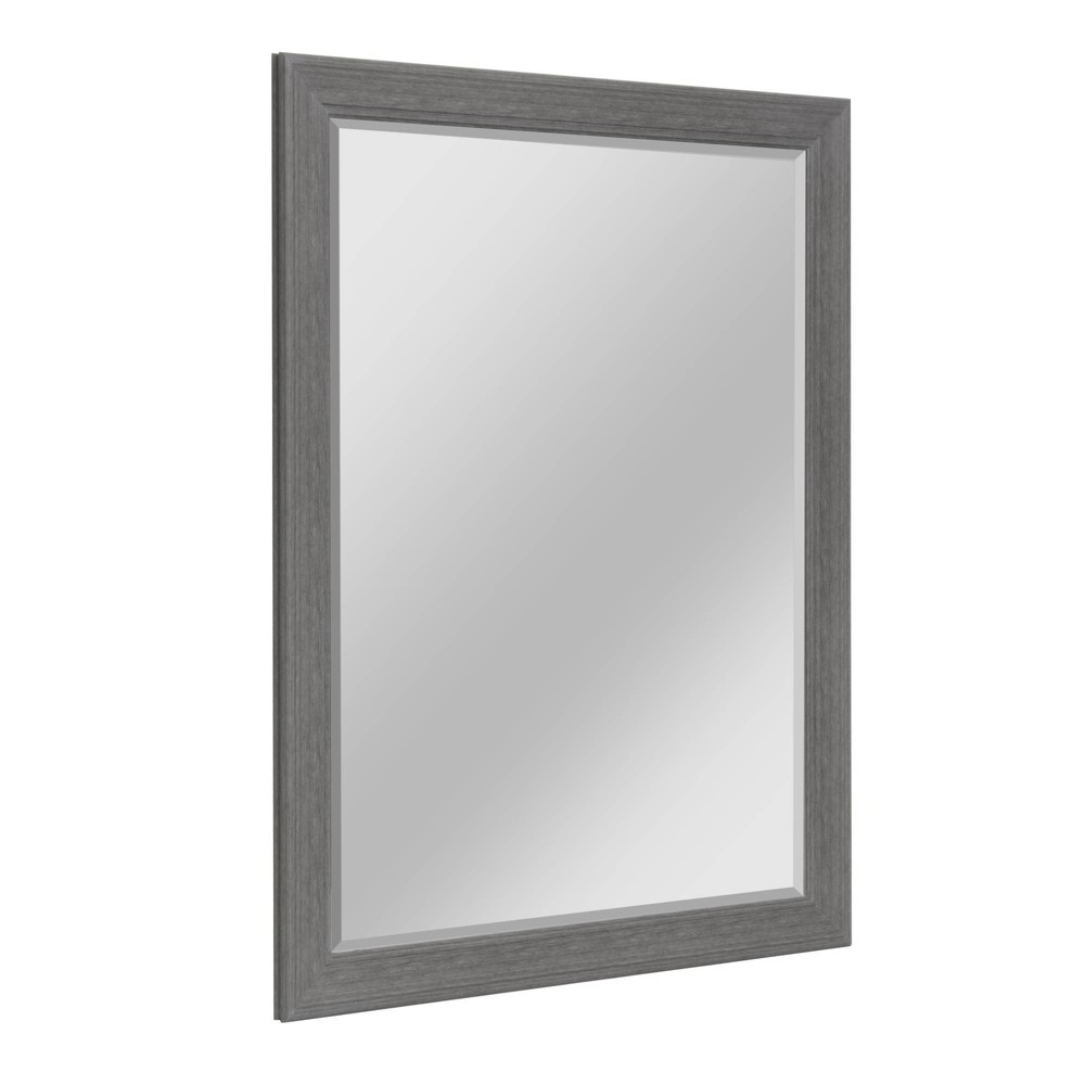 35 5 34 X 45 5 34 Textured Woodgrain Mirror Gray Head West