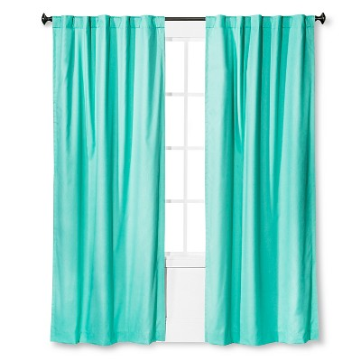 Twill Blackout Curtain Panel Aqua Float (42 x63 )- Pillowfort™