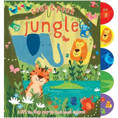 Seek & Peek Jungle - by  Elizabeth Golding (Hardcover) - image 1 of 1