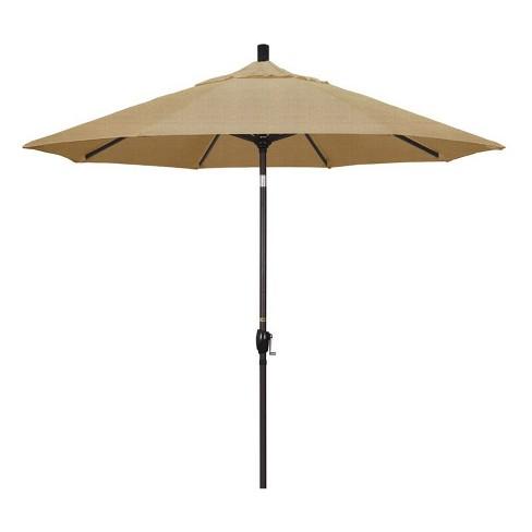 9' Patio Umbrella in Linen Sesame - California Umbrella - image 1 of 2