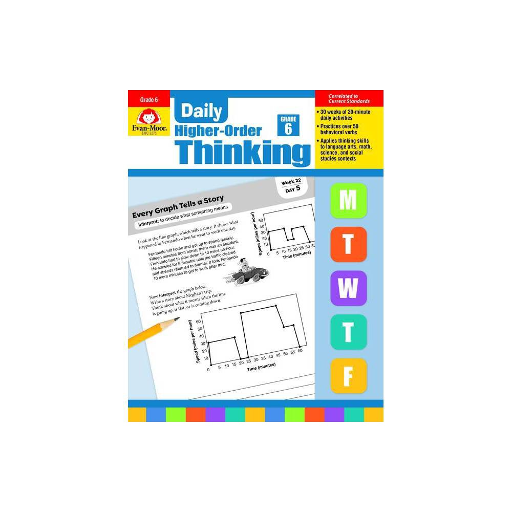 Daily Higher Order Thinking Grade 6 Paperback