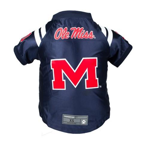 big sale adbd5 66b03 Ole Miss Rebels Little Earth Premium Pet Football Jersey - 4XL