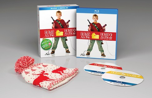 Home Alone 25th Anniversary Edition (Blu-ray) (Gift W/ Knit Hat from film) - Target Exclusive - image 1 of 1