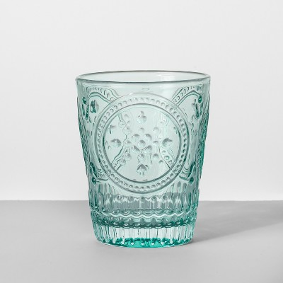 9.1oz Glass Tumbler Blue - Opalhouse™
