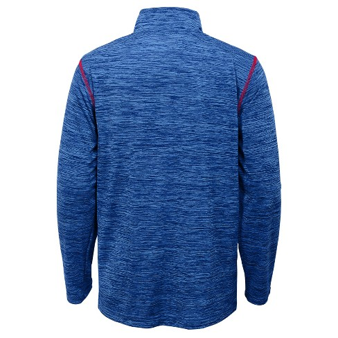 best sneakers 8f643 9f61a Chicago Cubs Boys' In the Game 1/4 Zip Sweatshirt XS
