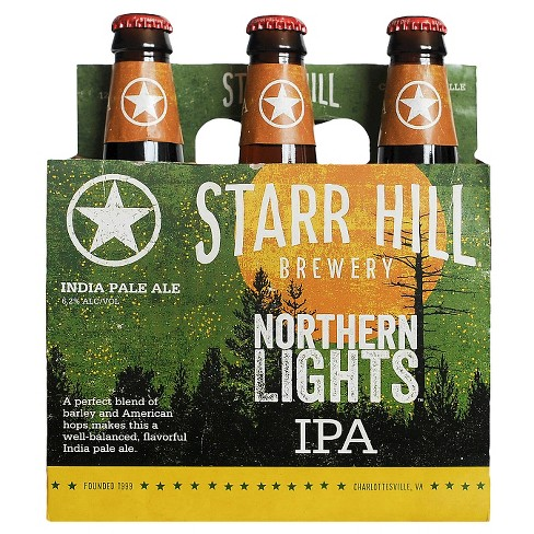 Starr Hill® Northern Lights IPA - 6pk / 12oz Bottles - image 1 of 1