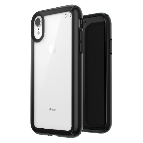 finest selection fddd3 4523a Speck Apple iPhone XR Presidio Case - Clear/Black