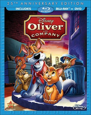 Oliver and Company (25th Anniversary Edition)(2 Discs)(Blu-ray)