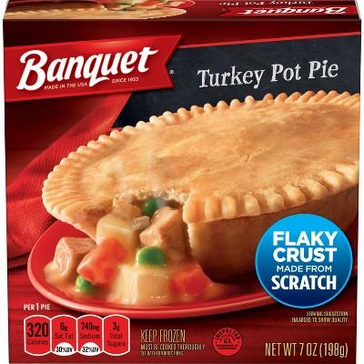 Banquet Frozen Turkey Pot Pie - 7oz