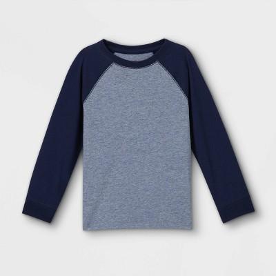 Toddler Boys' Jersey Knit Long Sleeve T-Shirt - Cat & Jack™