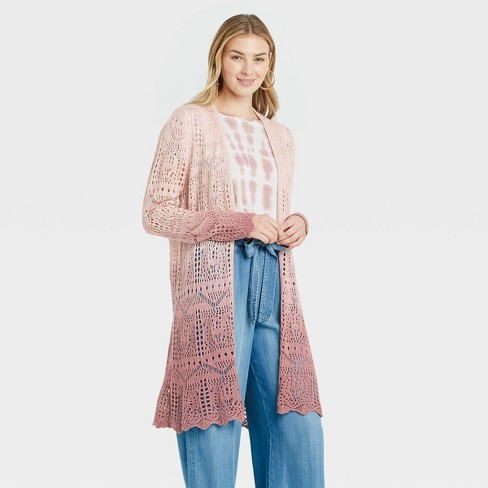 Women's Ombre Cardigan - Knox Rose™ - image 1 of 3