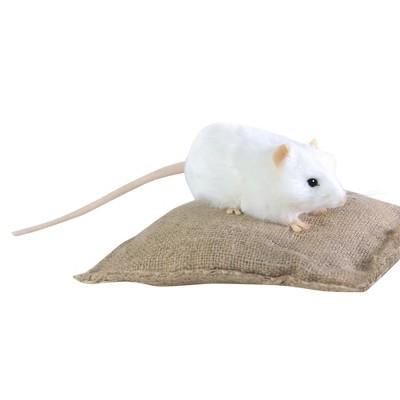 """Hansa 5 """" Mouse-White"""
