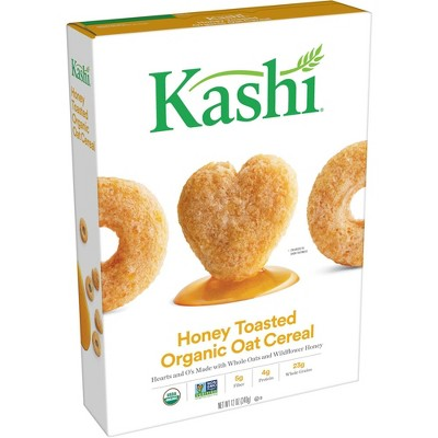 Kashi Heart to Heart Honey Toasted Oat Breakfast Cereal - 12oz