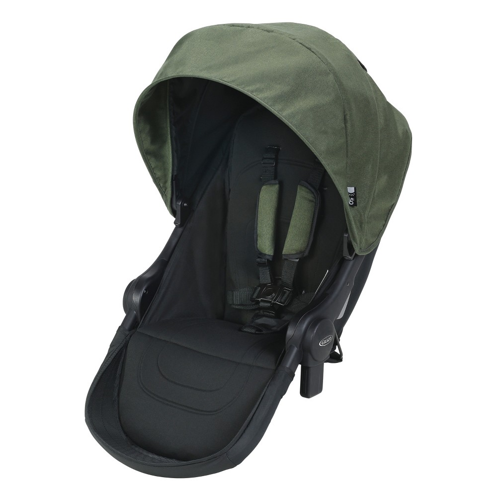 Graco Uno2Duo Travel System Stroller 2nd Seat - Jules Green