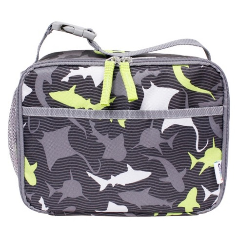 Crckt Kids Lunch Box Grey Shark