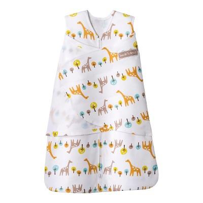 HALO SleepSack 100% Cotton Swaddle - Jungle Giraffe - Small