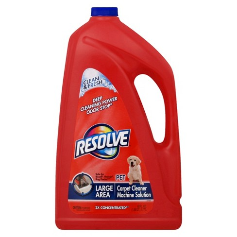 Resolve Large Area Pet Carpet Cleaner Machine Solution 60