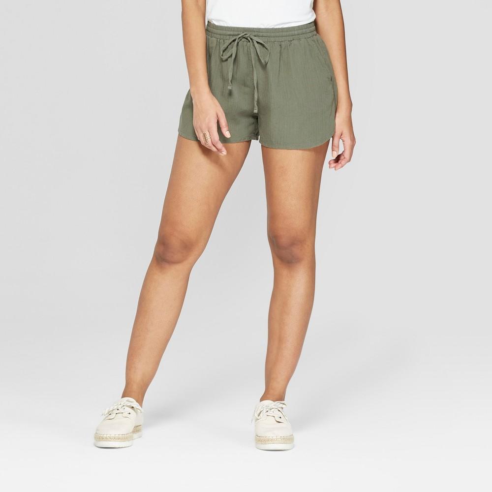 Women's Pull On Shorts - Universal Thread Olive (Green) M