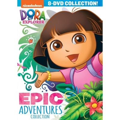 Dora The Explorer: The Epic Adventure Collection (DVD)