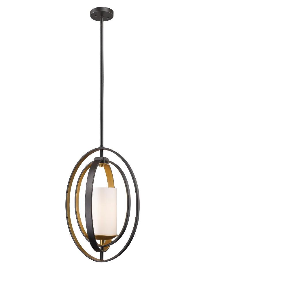 """Image of """"17.5"""""""" Ceiling Light Mini Pendant Bronze Gold - Z-Lite"""""""