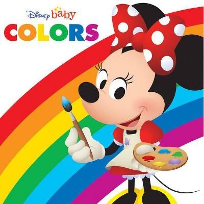 Disney Baby: Colors - (Board Book)