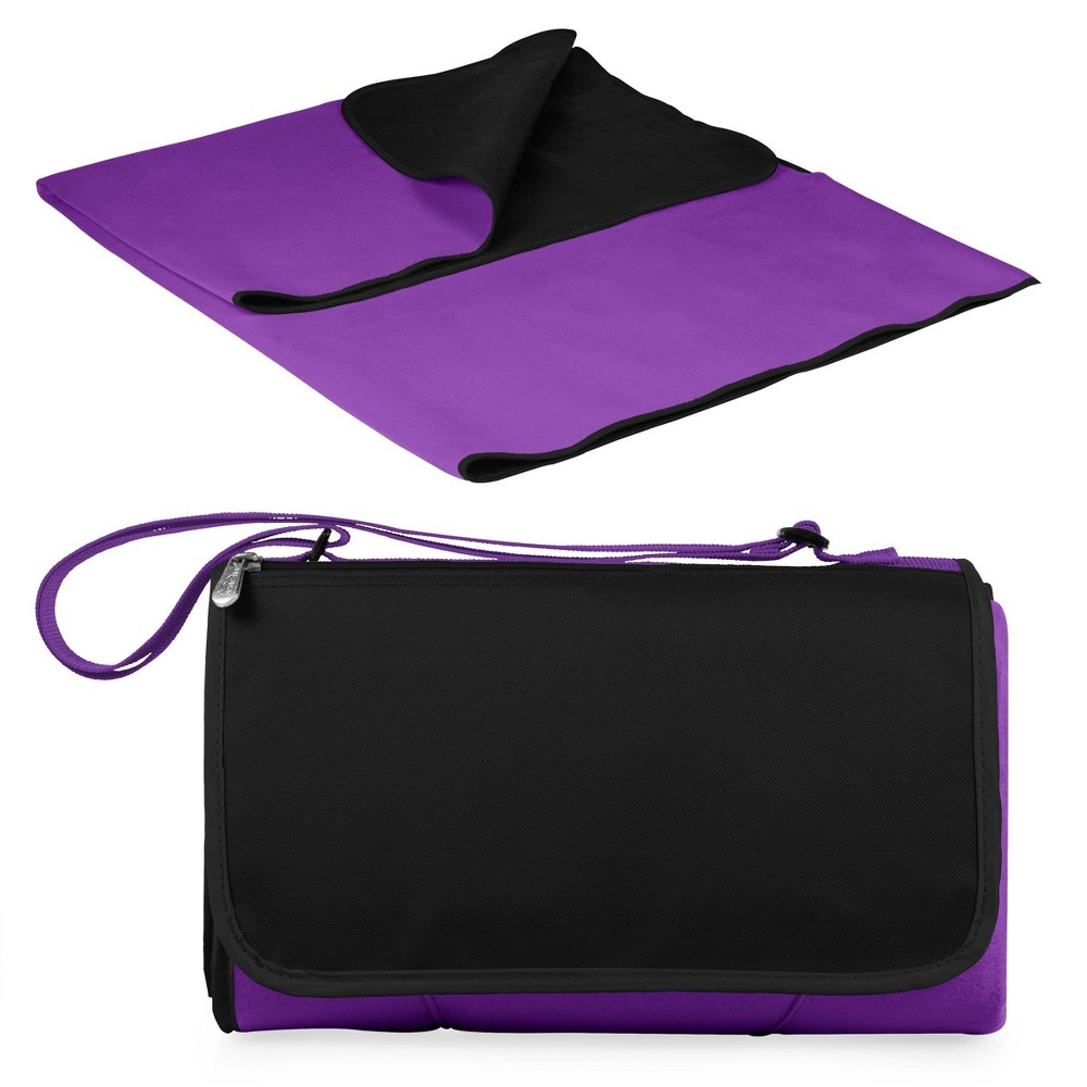 Image of Picnic Time Blanket Tote - Purple