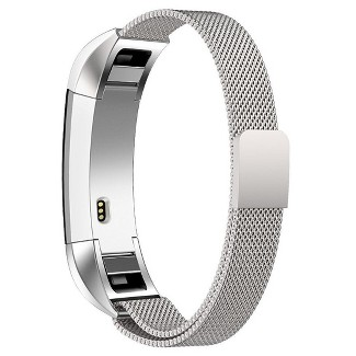 North Fitbit Alta Stainless Steel Activity Tracker Band - Silver