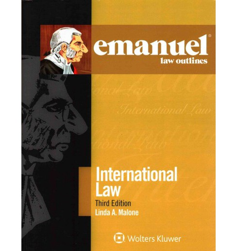 International Law (Paperback) (Linda A. Malone) - image 1 of 1